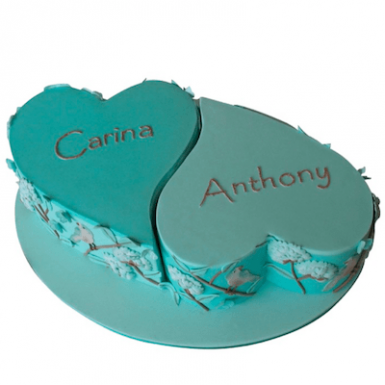 Торт «Carina and Anthony»