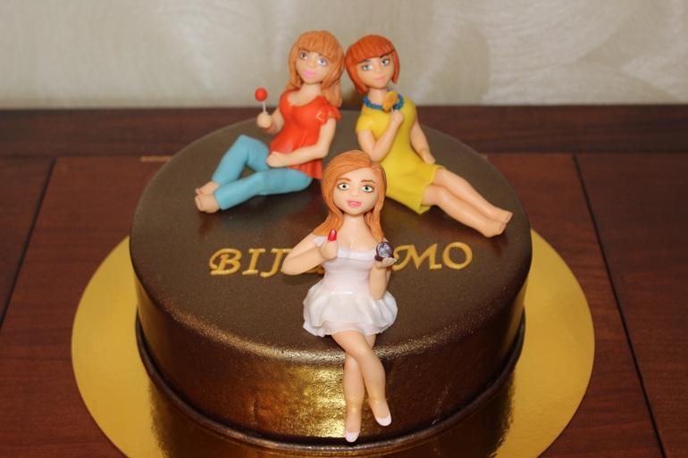 Прикольный торт для подруги картинки