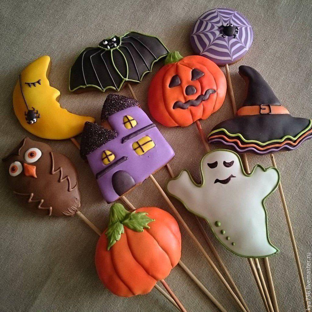 Пряники на хэллоуин своими руками 94
